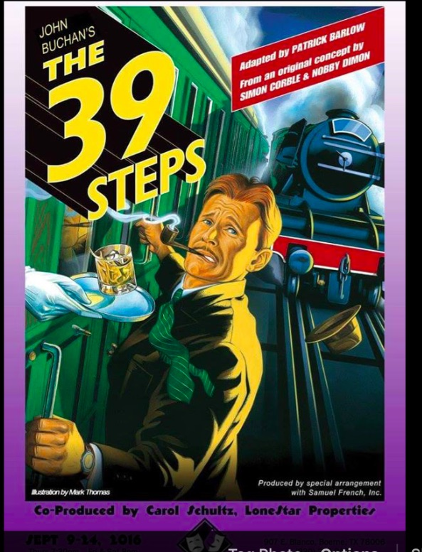 The 39 Steps by Boerne Community Theatre