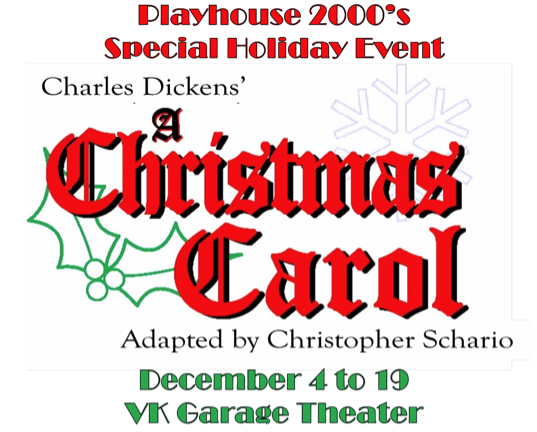 A Christmas Carol by Playhouse 2000