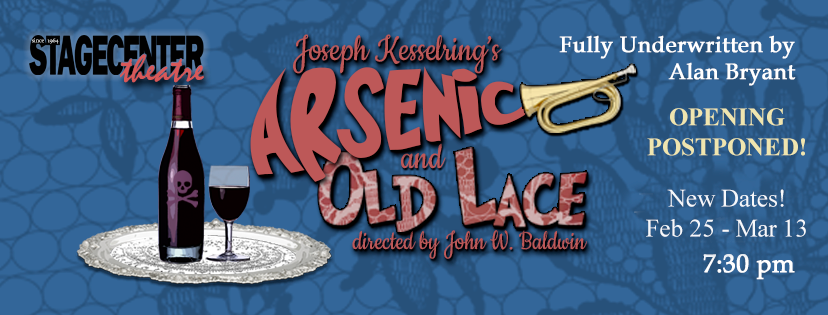 Arsenic and Old Lace by StageCenter Community Theatre