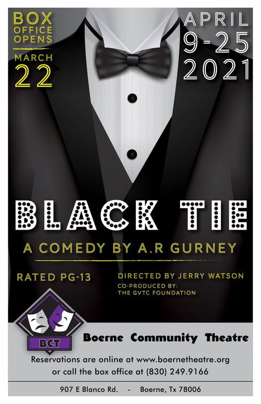 Black Tie by Boerne Community Theatre