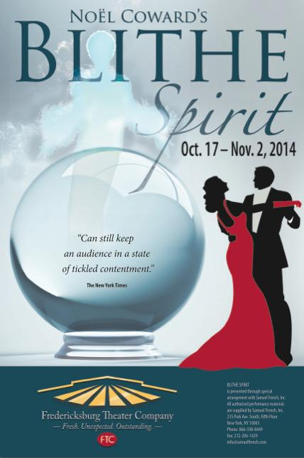 Blithe Spirit by Fredericksburg Theater Company