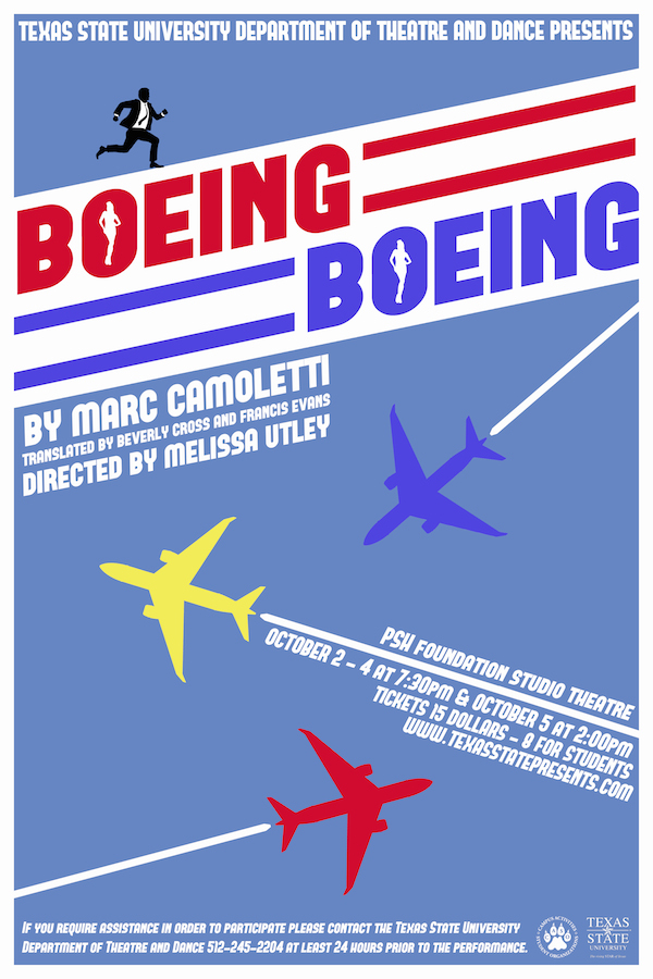 Boeing Boeing by University of Texas Theatre & Dance
