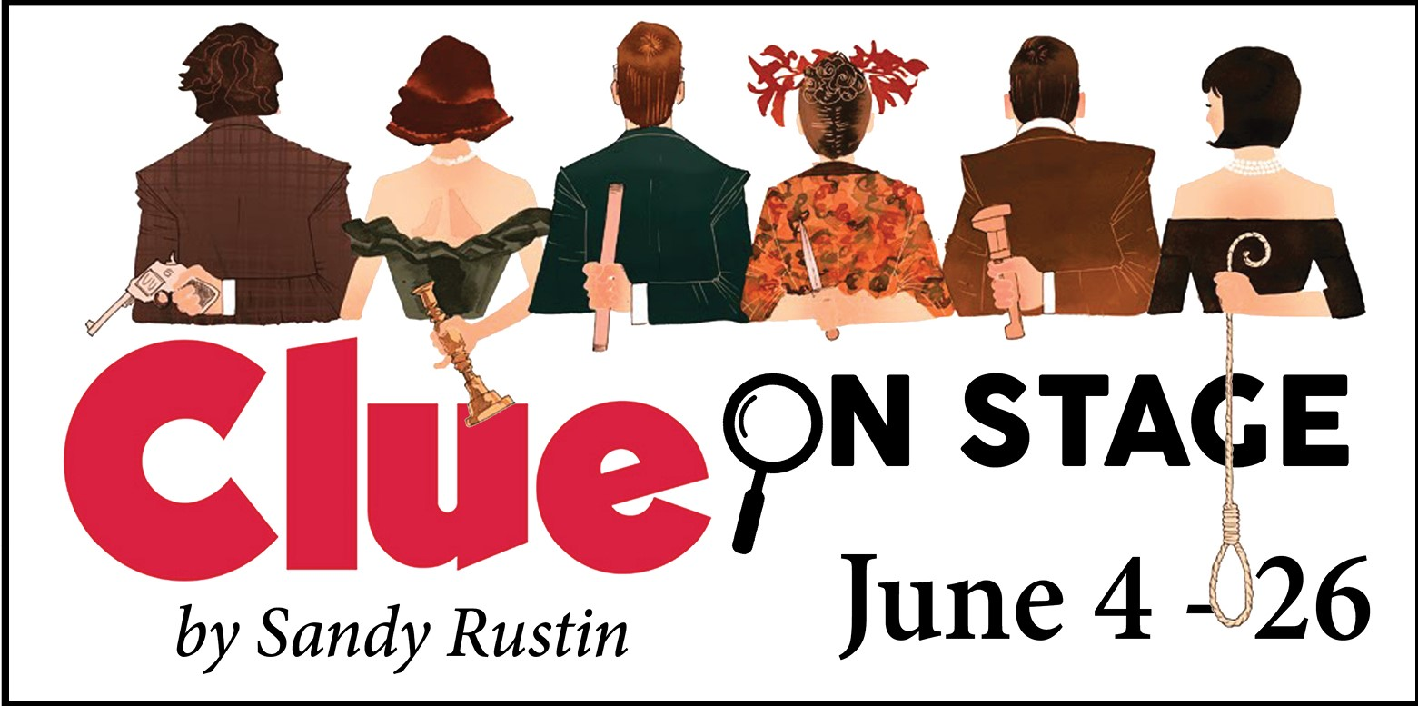 Auditions for Clue Onstage, by Hill Country Arts Foundation (HCAF), Ingram