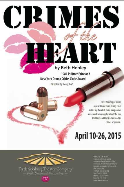 Crimes of the Heart by Fredericksburg Theater Company