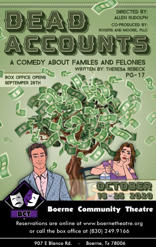 Dead Accounts by Boerne Community Theatre