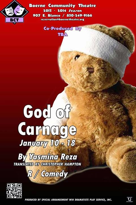 God of Carnage by Boerne Community Theatre