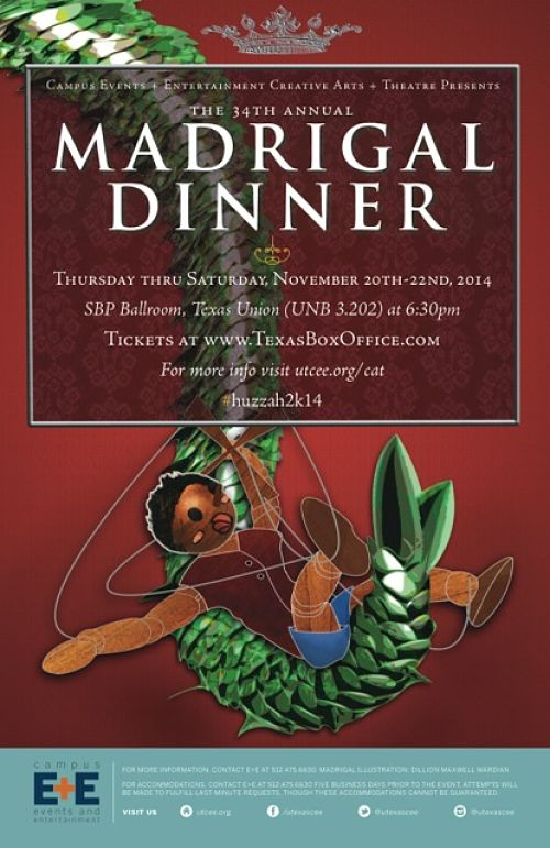 Madrigal Dinner by University of Texas Theatre & Dance