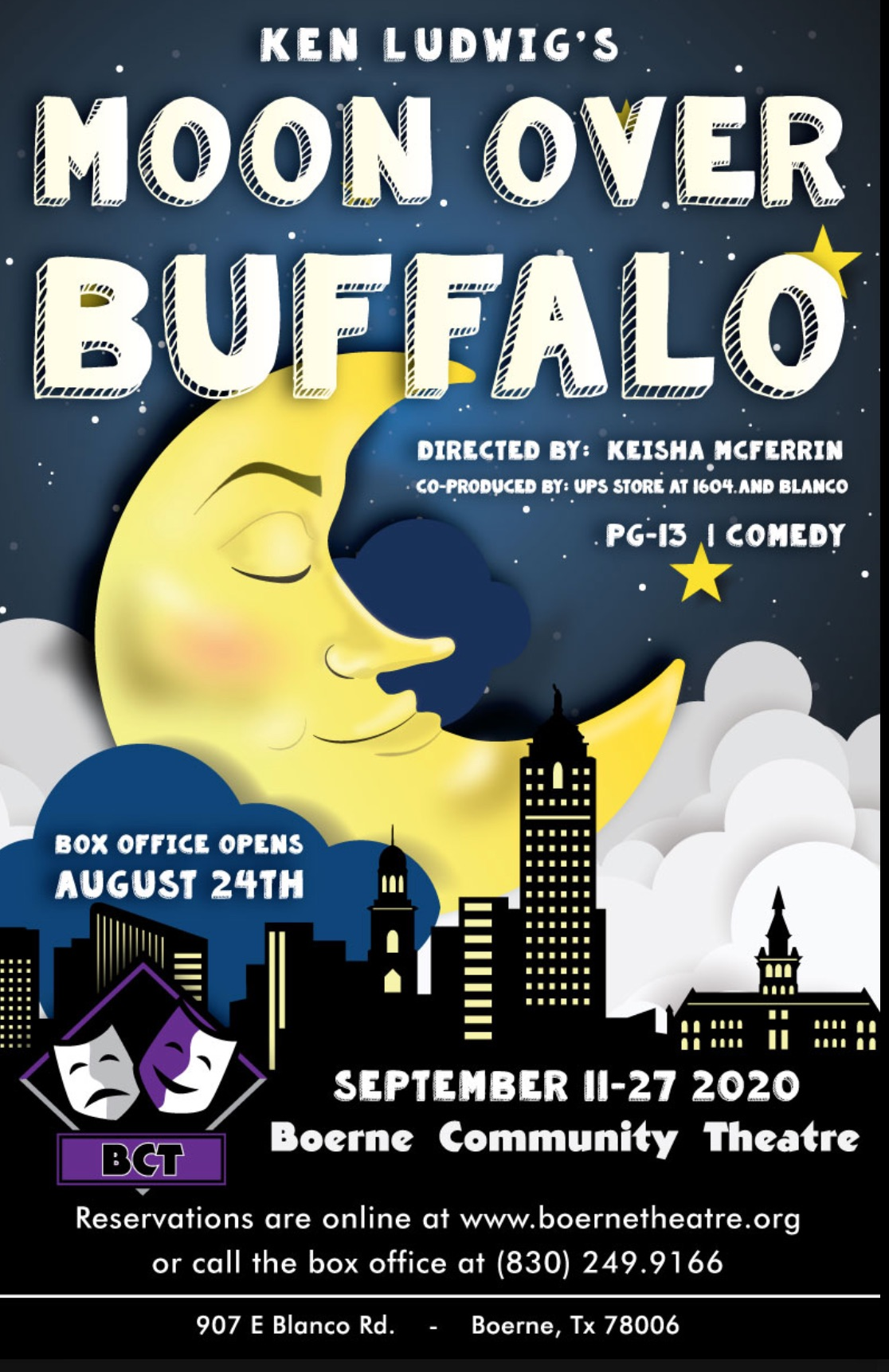 Moon Over Buffalo by Boerne Community Theatre