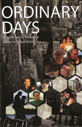 Ordinary Days by Penfold Theatre Company