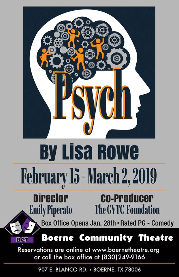 Psych by Boerne Community Theatre