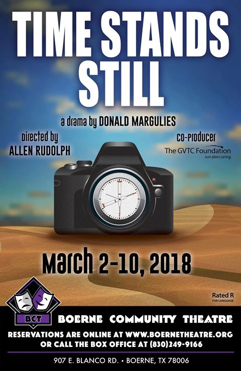 Time Stands Still by Boerne Community Theatre