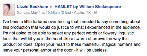 Hamlet 7 person version based on first folio ctx live theatre review by liza feldkamp via facebook malvernweather Images