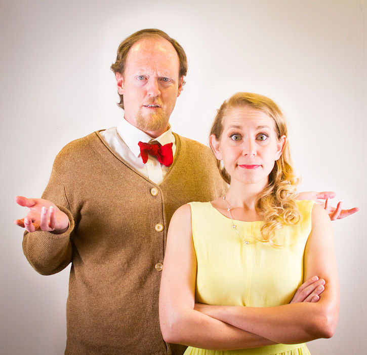 Scott Shipman, Molly Karrasch (photo by Austin Playhouse)