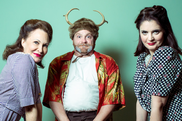 Babs George, Toby Minor, Gwenolyn Kelso (photo by Errich Petersen)