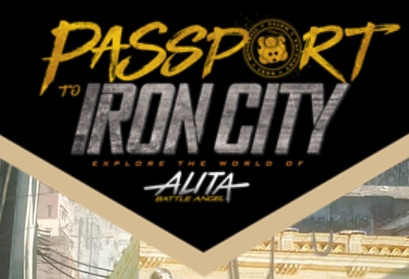 Passport to Iron City by Alita - Battle Angel
