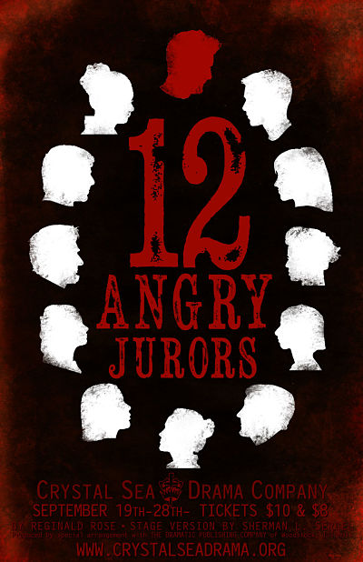 12 Angry Jurors by Crystal Sea Drama Company