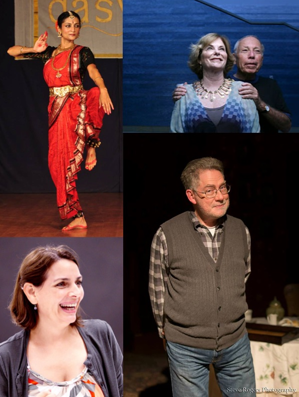 Photo credits: clockwise from upper left: Anuradha Naimpally's Facebook page; Jeanne and Michael Klein via Austin Statesman; Norman Blumensaadt by Steve Rogers Photography; Kathy Dunn Hamrick from  kdhdance.com.