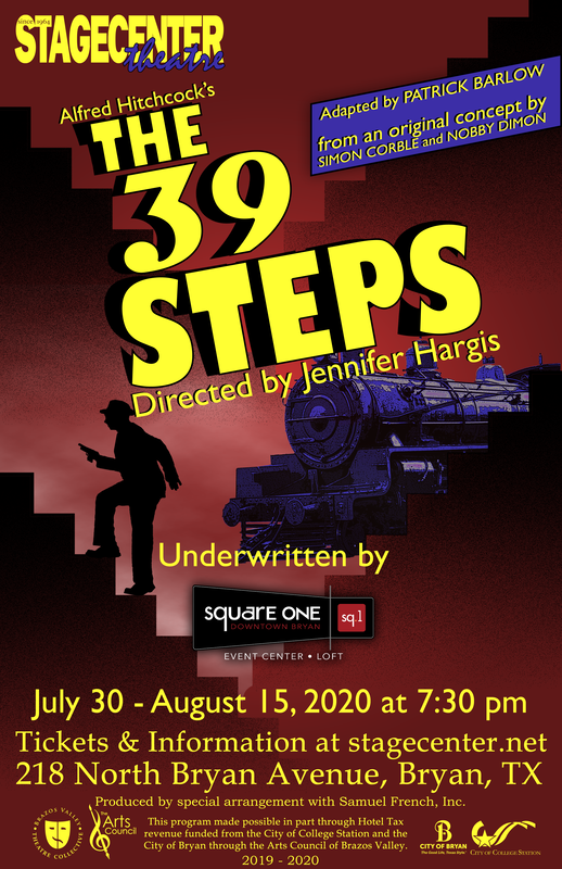 The 39 Steps by StageCenter Community Theatre