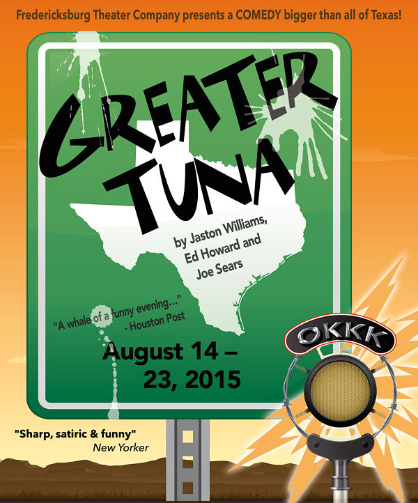 Greater Tuna by Fredericksburg Theater Company
