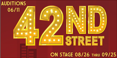 Auditions for 42nd Street, by Georgetown Palace Theatre