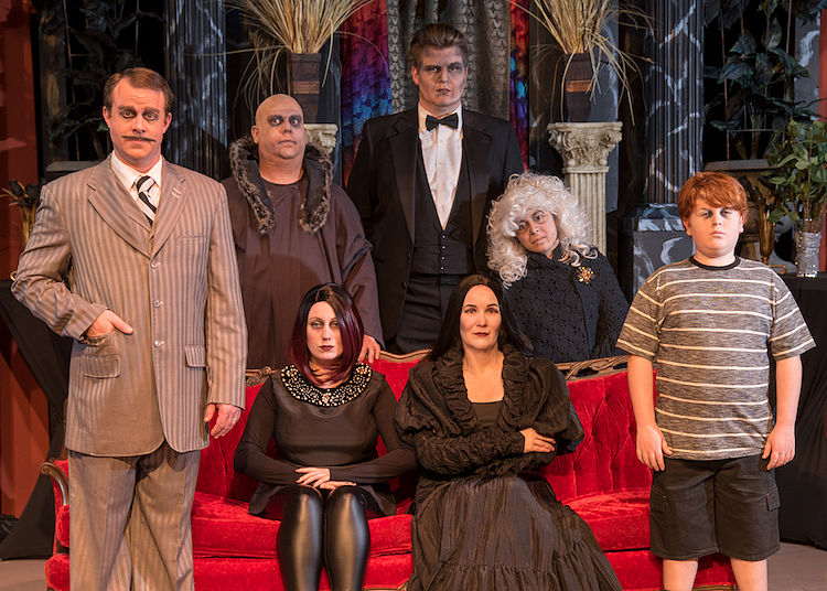 The Addams Family by Fredericksburg Theater Company