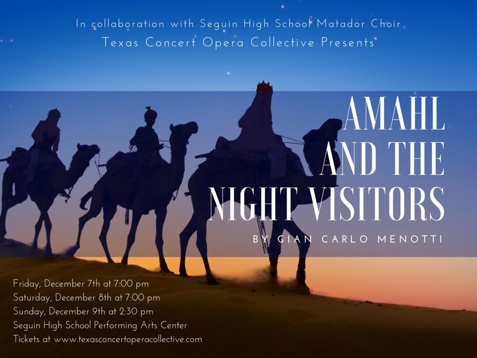 Amahl and the Night Visitors by Texas Concert Opera Collective (TCOC)