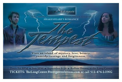 The Tempest by Austin Shakespeare