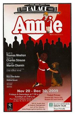 Annie, the musical by Georgetown Palace Theatre