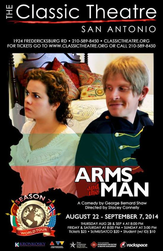 Arms and the Man by Classic Theatre of San Antonio