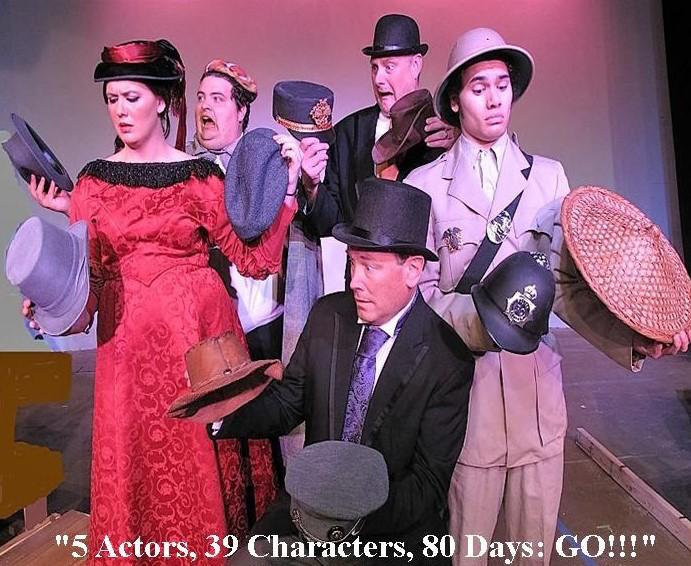 Around the World in 80 Days by Circle Arts Theatre