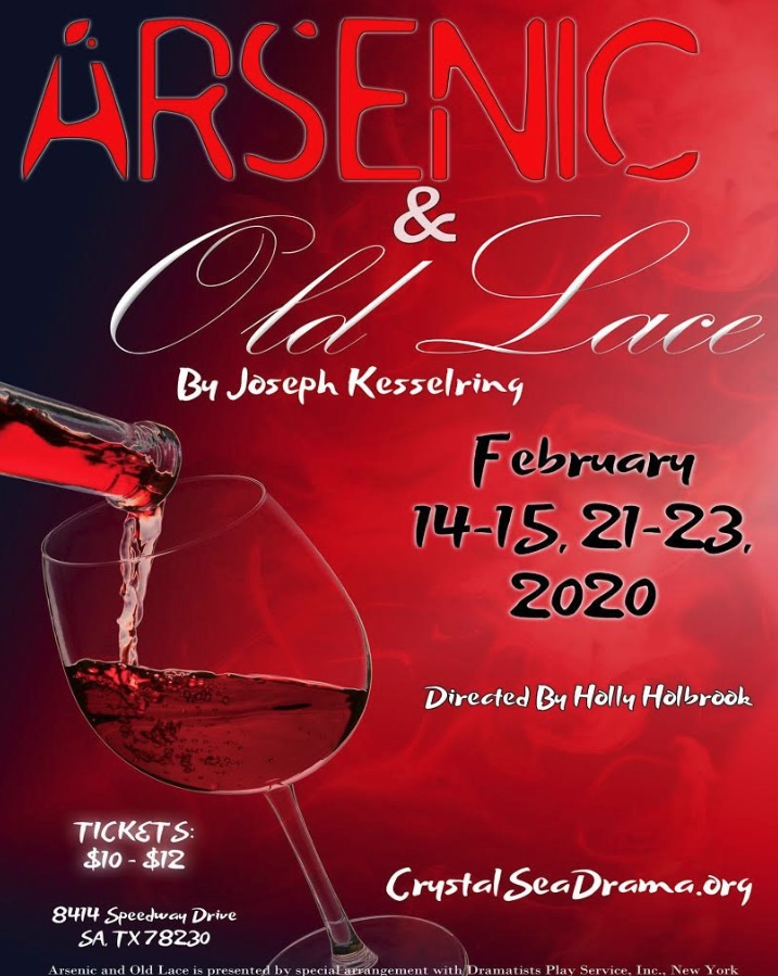 Arsenic and Old Lace by Crystal Sea Drama Company