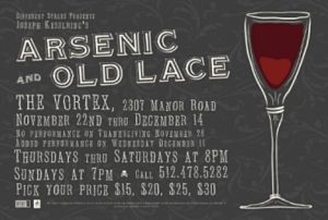 Arsenic and Old Lace by Different Stages