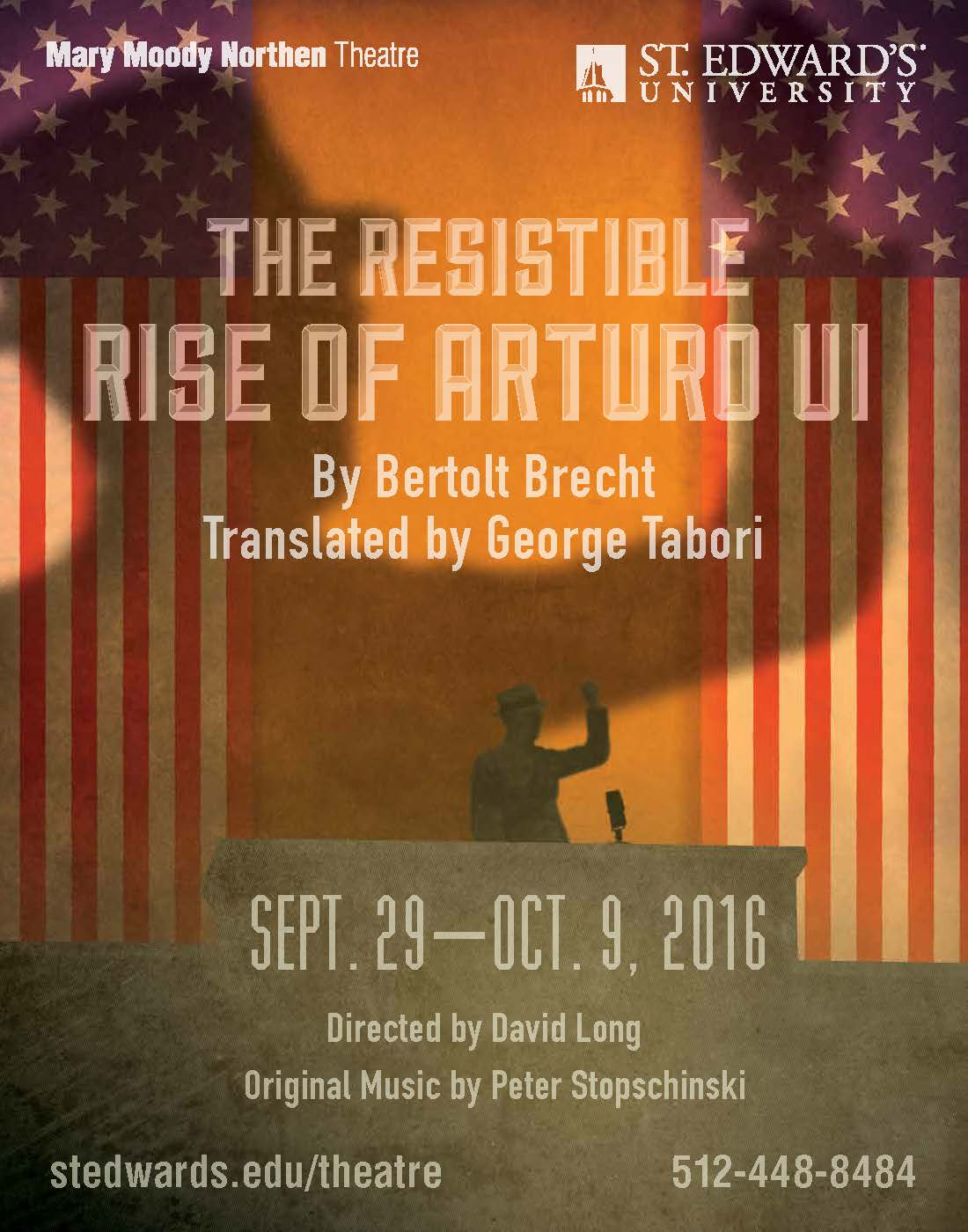 The Resistible Rise of Arturo Ui by Mary Moody Northen Theatre