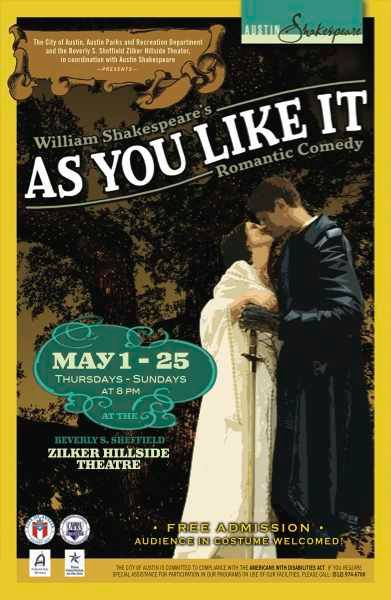 As You Like It by Austin Shakespeare