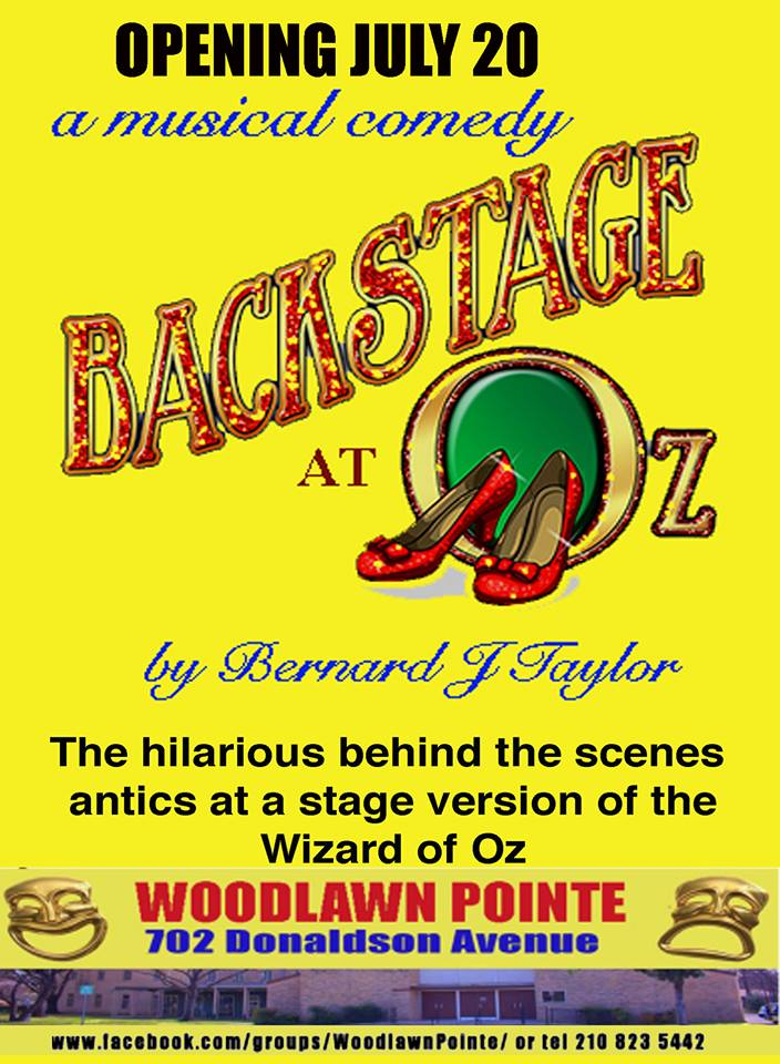 Backstage at Oz by Aria Creative Productions