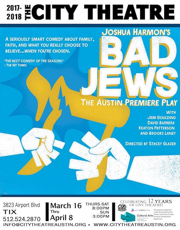 Bad Jews by City Theatre Company