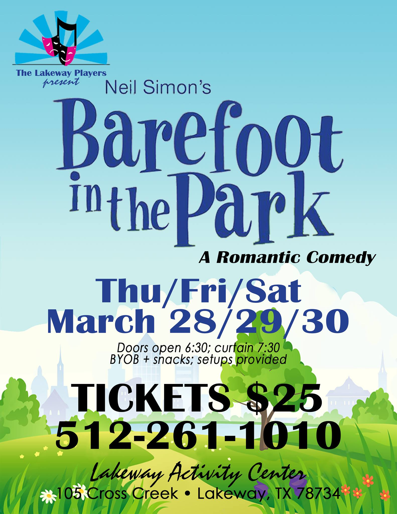Barefoot in the Park by Lakeway Players