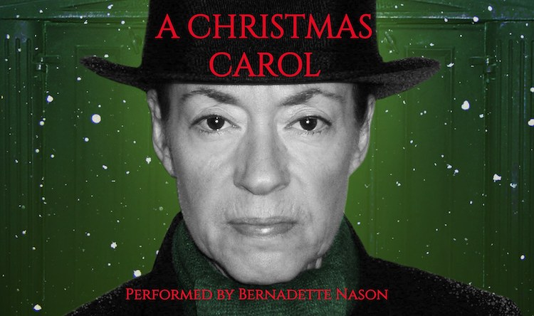 A Christmas Carol, one-actor, by Bernadette Nason by Austin Playhouse