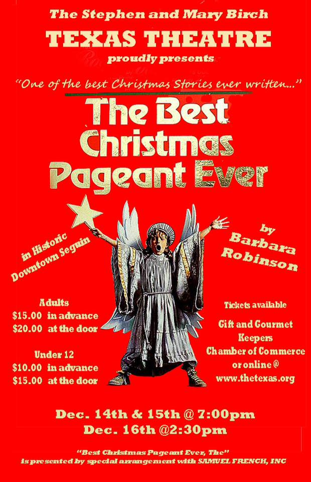 The Best Christmas Pageant Ever by unspecified in Central Texas