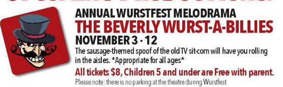 The Beverly Wurst-a-Billies by Circle Arts Theatre