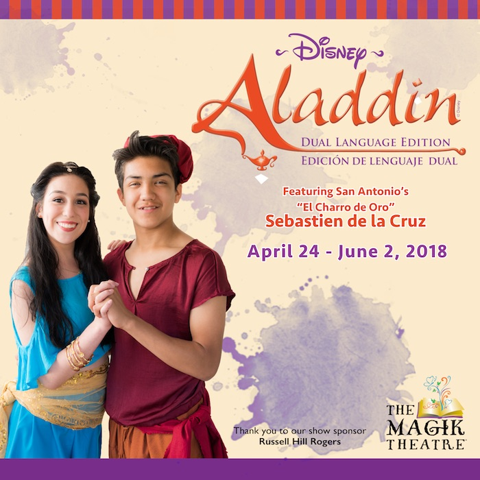 Disney's ALADDIN, bilingual edition by Magik Theatre