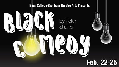 Black Comedy by Blinn College Theatre Department
