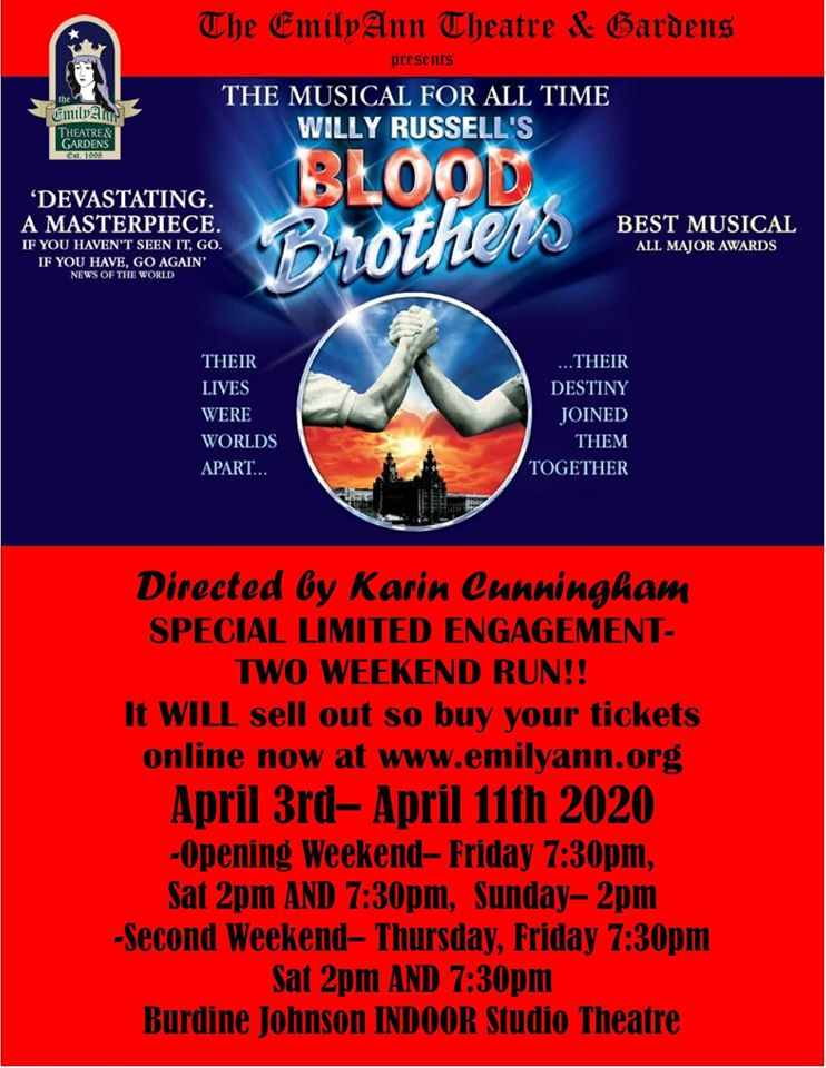 Blood Brothers by Emily Ann Theatre