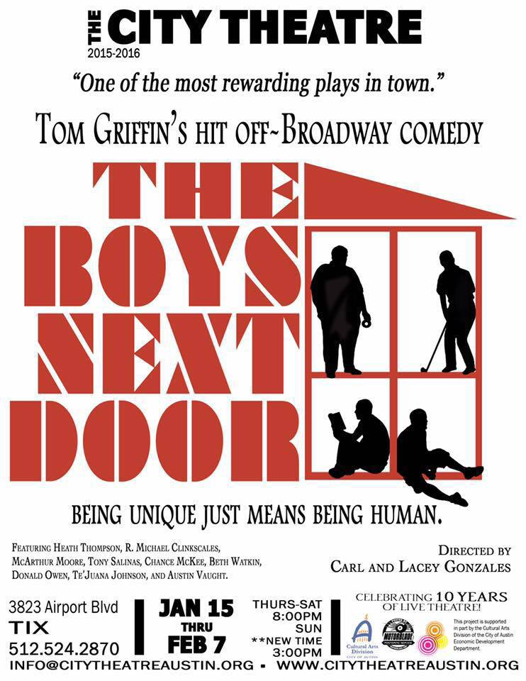 The Boys Next Door by City Theatre Company