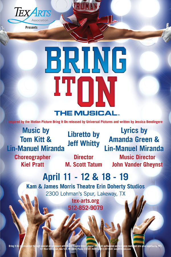 Bring It On, the musical by Tex-Arts