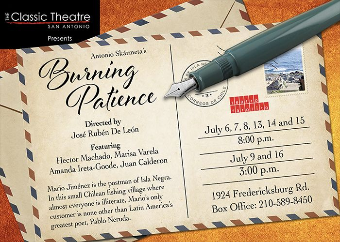 Burning Patience by Classic Theatre of San Antonio
