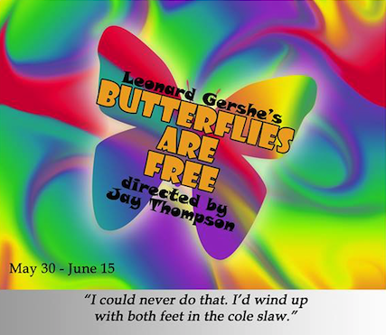 Butterflies Are Free by StageCenter Community Theatre