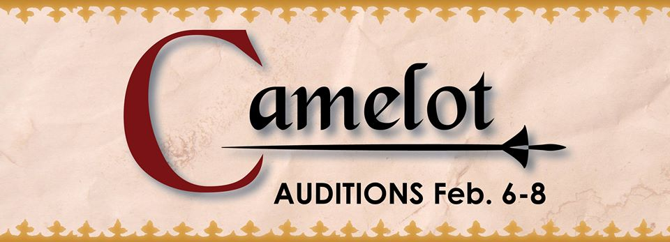 Auditions for Camelot, by Georgetown Palace Theatre