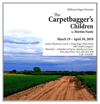 The Carpetbagger's Children by Different Stages