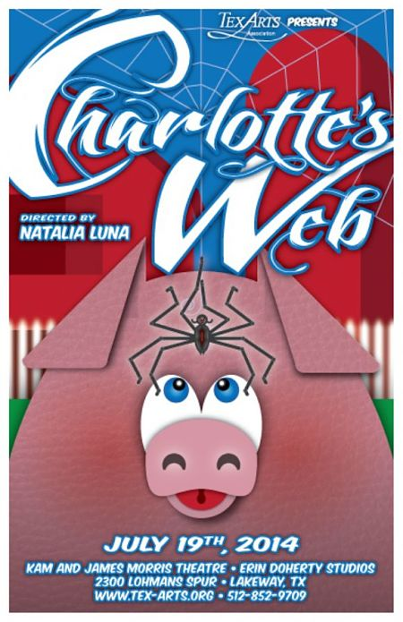 Charlotte's Web by Tex-Arts